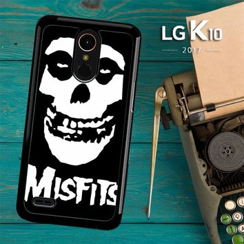 Horror Punk Rock Band Misfits Skull Z0506 LG K10 2017 / LG K20 Plus / LG Harmony Case