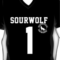 "Teen Wolf ""SOURWOLF 1"" Lacrosse V-Neck"