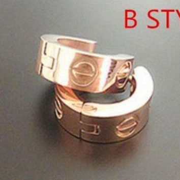 DCCKNQ2 Cartier Woman Fashion Plated Ring Jewelry