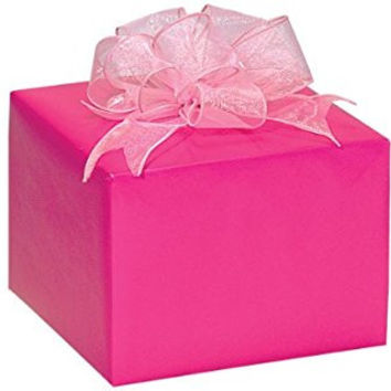 HOT PINK Gloss Gift Wrap Wrapping Paper 16 Foot Roll