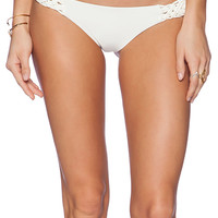 Bettinis Resort Cheeky Bikini Bottom in Ivory