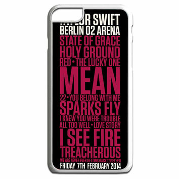 Taylor Swift Red poster FOR IPHONE 6 PLUS CASE**AP*