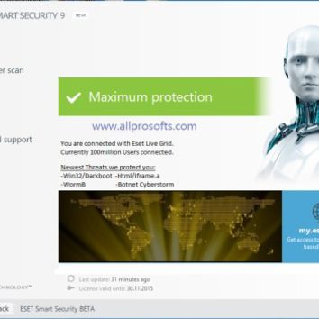 ESET Smart Security 9 Key Till 2020 Free Download