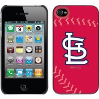 Coveroo, Inc. St. Louis Cardinals iPhone 4 / 4S Cell Phone Case 401-453-BK-FBC (Black)