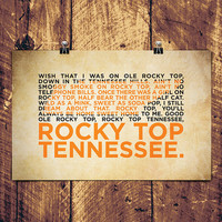 "Rocky Top Poster - 17"" x 11"""