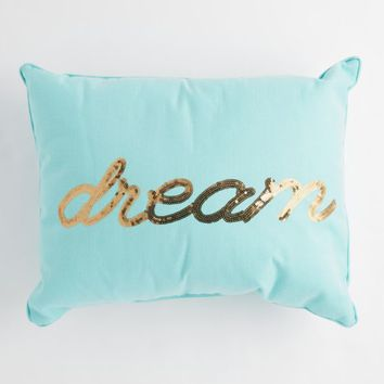 Dream Sequined Throw Pillow | Pillows | rue21