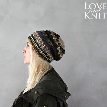Multicolor Crochet Beanie No.14