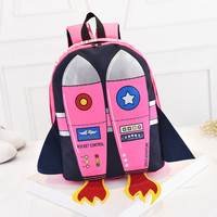 Harajuku retro rocket Backpack