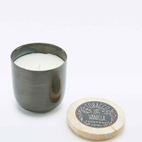 Paddywax Tobacco and Vanilla Candle Pot in Gun Metal - Urban Outfitters