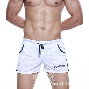 Free shipping Sexy Mens Shorts Casual Boxer Wear Cotton casual active Beach cargo shorts