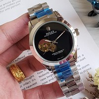 8DESS ROLEX Woman Men Fashion Automatic Mechanical Wristwatch Watch