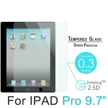 "For Apple Ipad Pro 9.7 Explosion-proof Tempered Glass Screen Protector Protective Film For Apple Ipad Pro 10.5"" 2.5D Tempered"