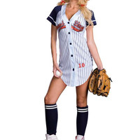 Dreamgirl Plus Size Grand Slam Costume sports costumes