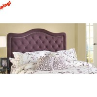 1758-trieste-headboard-queen-headboard-frame-included-purple-fabric - Free Shipping!
