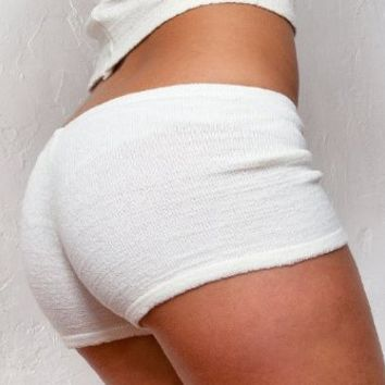 Yoga Booty Shorts Stretch Knit High Quality Pilates Gym Twerk KD dance