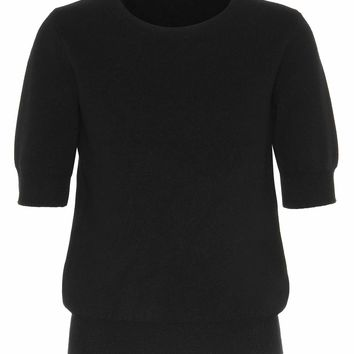 Lorin wool and cashmere top