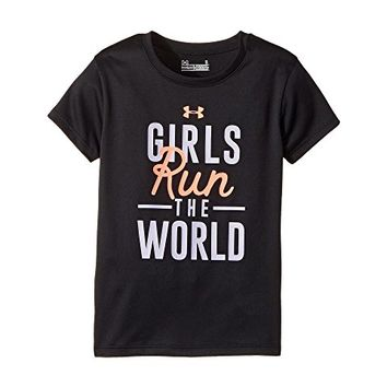 Under Armour Kids Run The World Short Sleeve (Little Kids)