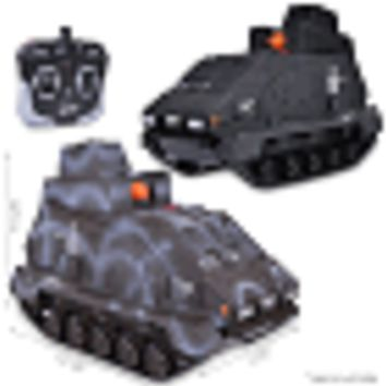 (2-Pack) Black Ops Airsoft Ignite Seek & Destroy Justice Dealer 2.0 R/C Tank w/90 FPS Gun Turret