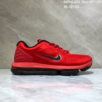 KUYOU N966 Nike Air Max 2019 Cushioned Train Running shoes Red