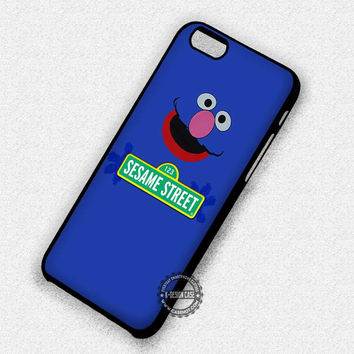 Grover Sesame Street - iPhone 7 6 Plus SE 4 Cases & Covers