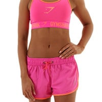 Gymshark Form Sports Bra - Pink/Coral - Sports Bra - Womens