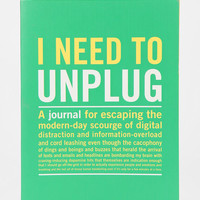 Unplug Everyday Journal - Urban Outfitters