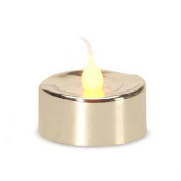 3 Battery Operated Tea Light Candles - Led