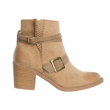 Luca Buckled Boots-FINAL SALE