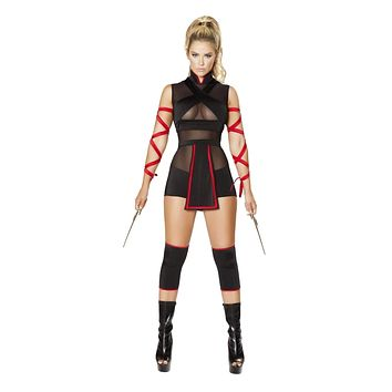 Roma Costume 4677 - 3Pc Ninja Striker