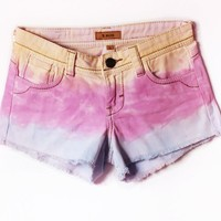 frayed cutoff shorts