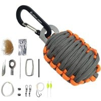 NEW EDC GEAR Carabiner Paracord Survival Kit