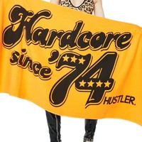 Hardcore Since '74 Beach Towel