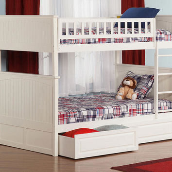 Anna White Twin over Twin Bunk Beds
