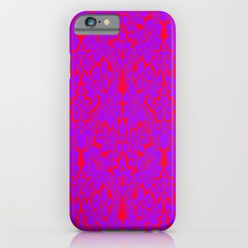 Grandmother's curtain iPhone & iPod Case by Azima