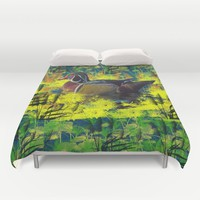 Duck Pond Duvet Cover by Scott Hervieux | Society6