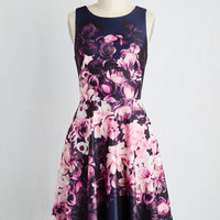 Sleeveless A-line The Twirl We Live In Dress