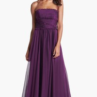 Strapless Chiffon Gown (Nordstrom Exclusive)