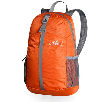 AONIJIE Men Women Lightweight Outdoor Sports Backpack Foldable Nylon Hiking Camping Mountaineering Gym Fitness Travel Bag