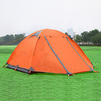 two Person Camping Tent 4 Season Tent Hiking Tent Camping Tent Waterproof (70+210+50)*150*110cm Tent Mountaineering