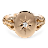 10K Yellow Gold The Oden Ring