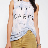 Urban Outfitters - The Laundry Room X UO No One Cares Muscle Tee