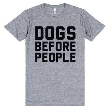 Dog Before People