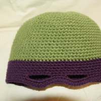 Teenage Mutant Ninja Turtle - Donatello - Crochet Hat (Adult)