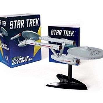 Star Trek Light-up Starship Enterprise BOX MAC TO