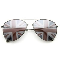 Novelty United Kingdom Britain UK Union Jack Aviator Sunglasses 9457