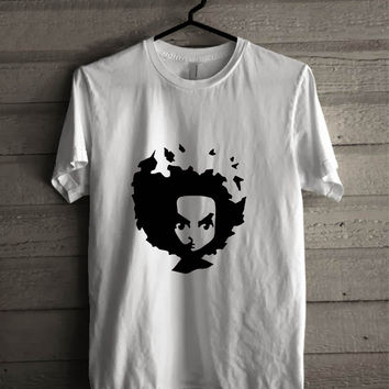 The Boondocks Huey Face  For Man And Woman Shirt / Tshirt / Custom Shirt