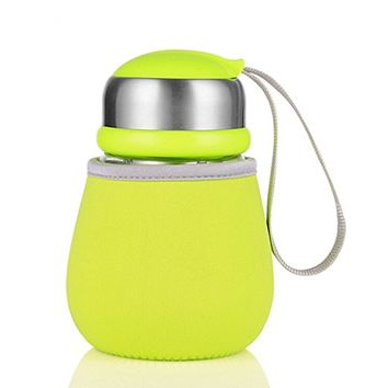 400 ml Creative Penguin cup with Tea Infuser & Rope Cute Kids Water Bottles with Gift Bag