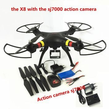 Syma X8W/X8C/X8 FPV Drone with Camera 12MP FHD drones with camera hd 6Axis dron Quadcopter RC Helicopter Fit SJ7000 quadrocopter