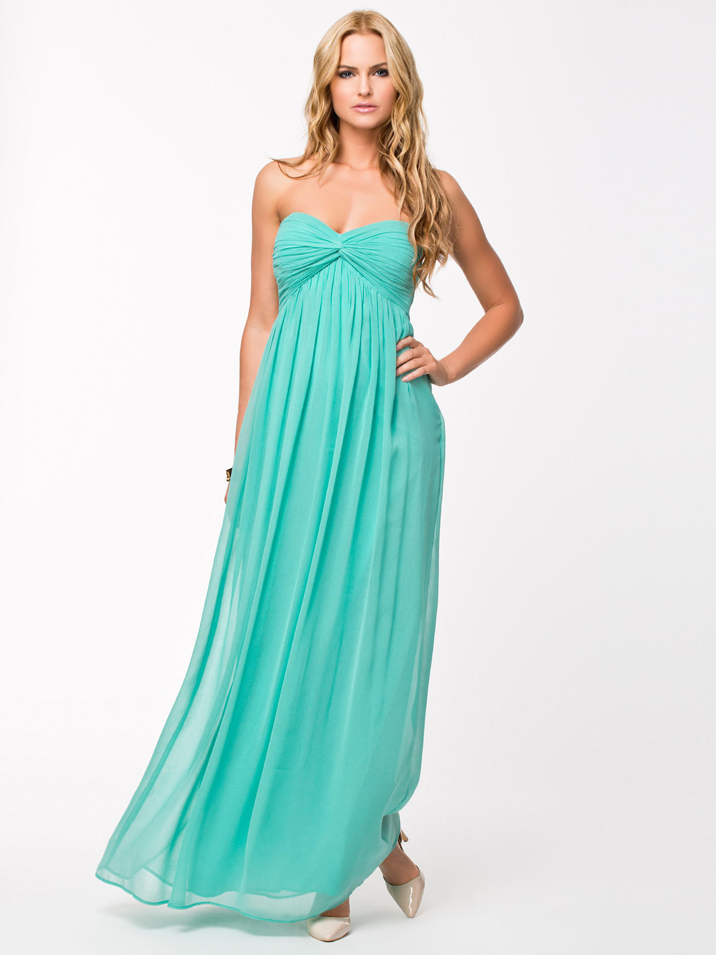 DREAMY DRESS - Turquoise Maxi dress by from nelly | Special