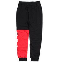 Knockout Paneled Sweatpants Black